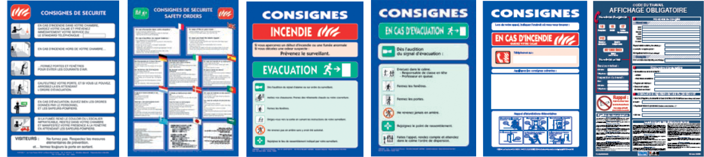 consigne de securite